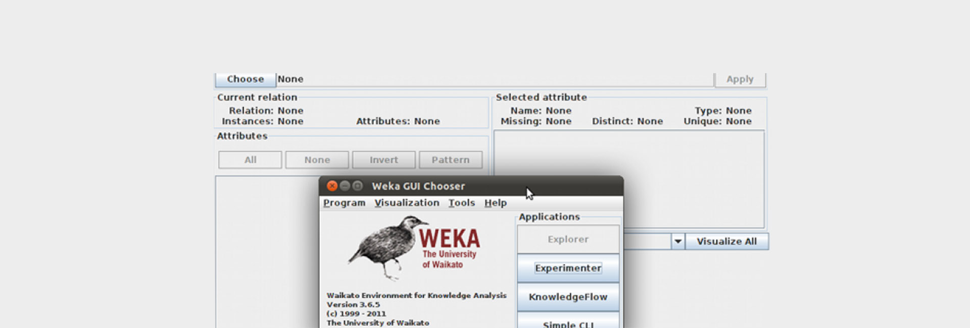 Introduction to machine learning: Classification of news with the help of the working environment Weka