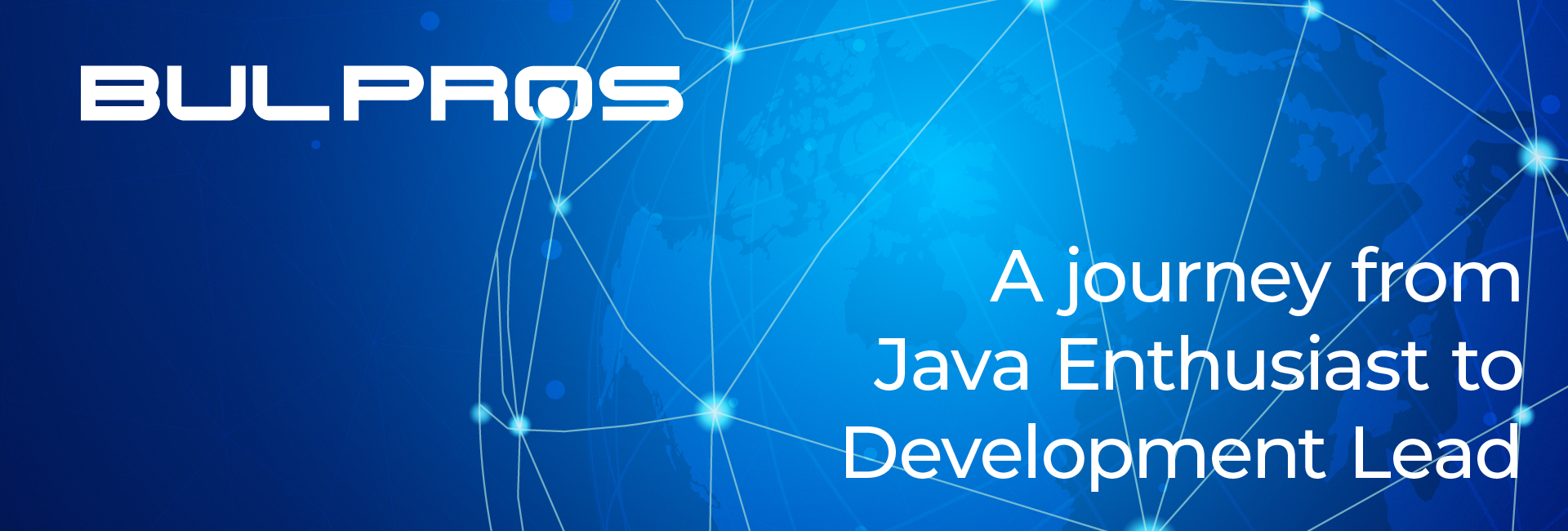 A journey from Java Enthusiast to Development Lead