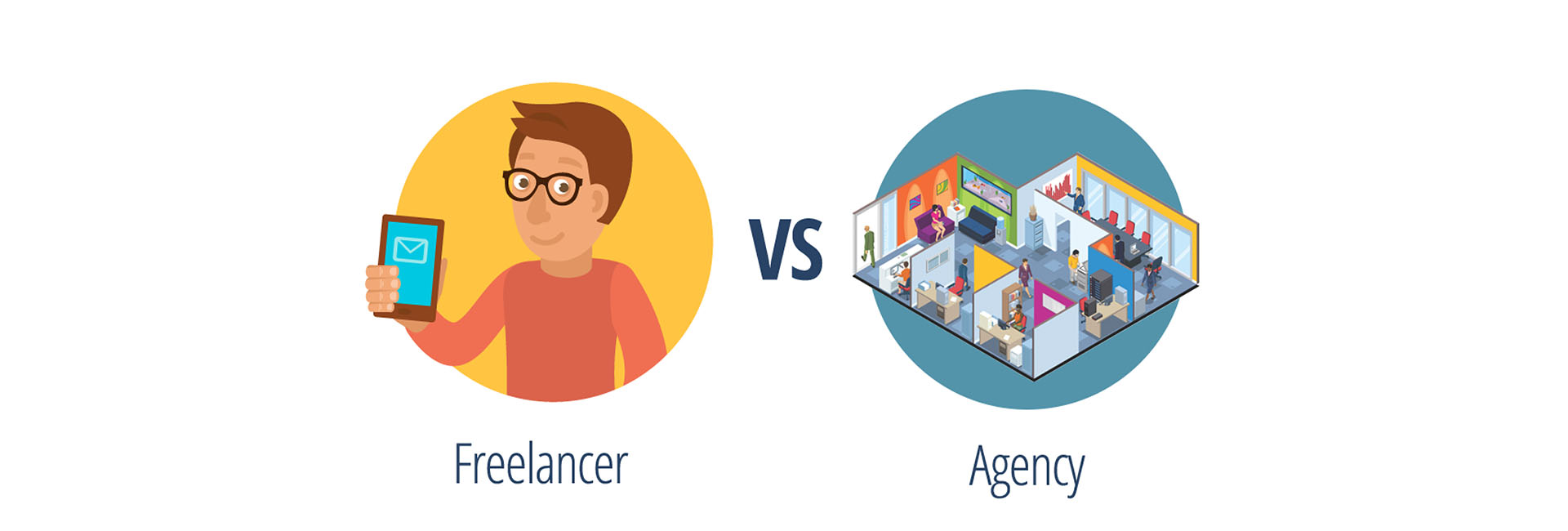 Freelance vs Web Agencija