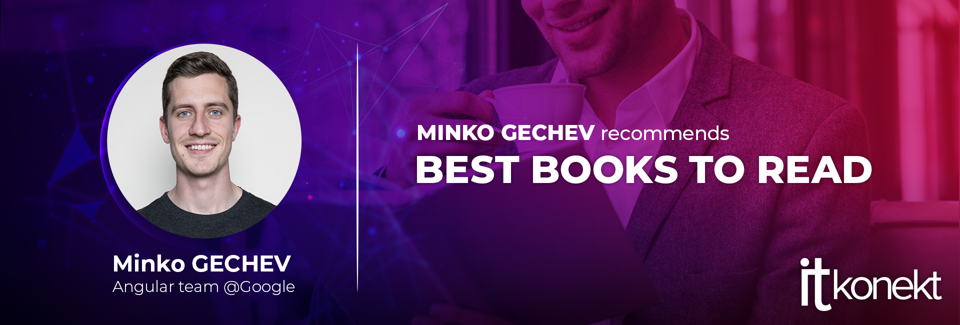 We are recommending books for programmers: Minko Gechev
