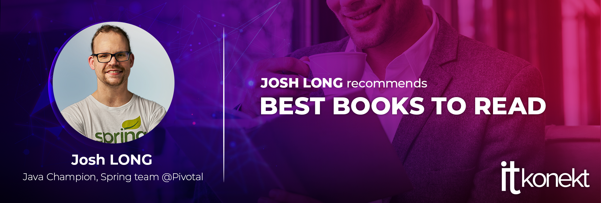 Book recommendations for programmers from Josh Long