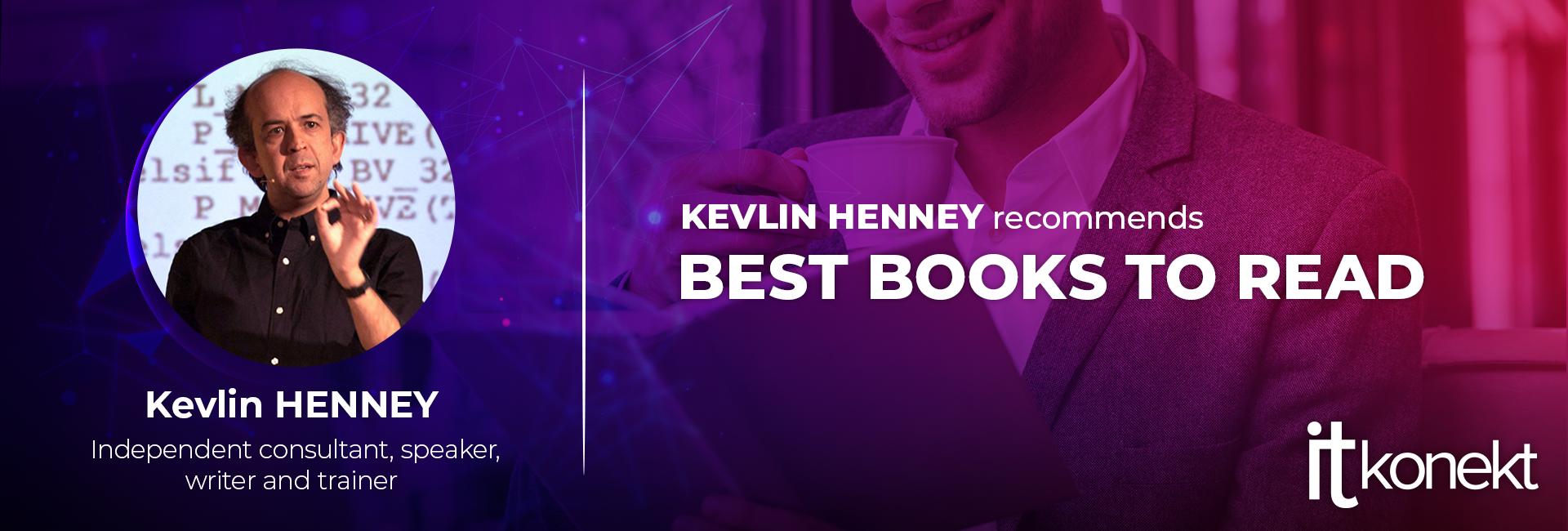Kevlin Henney, on the topic of what to read if you're a programmer